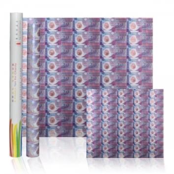 香港首枚塑料纪念钞 45连体整版钞