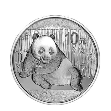 2015年熊猫银币  1盎司银币