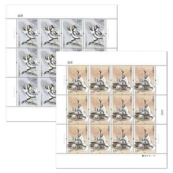 2018-15 《屈原》 特种邮票 大版票