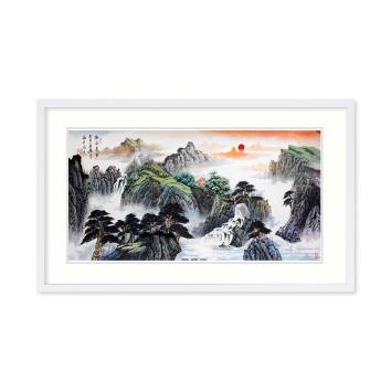 红墙书画家 吴进良作品《幽谷泉声》