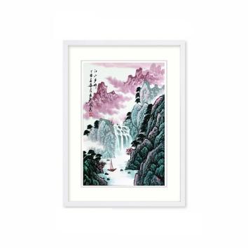 中国书画外交第一人 吴进良书画作品《江山多娇》