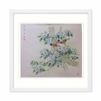 宋兆钦书画作品写意花鸟