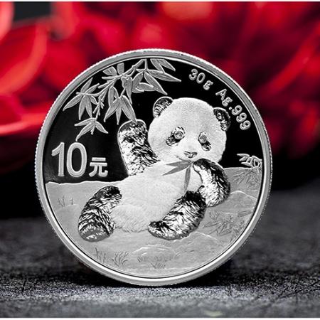 中国金币 2020版熊猫金银纪念币2020年熊猫银币