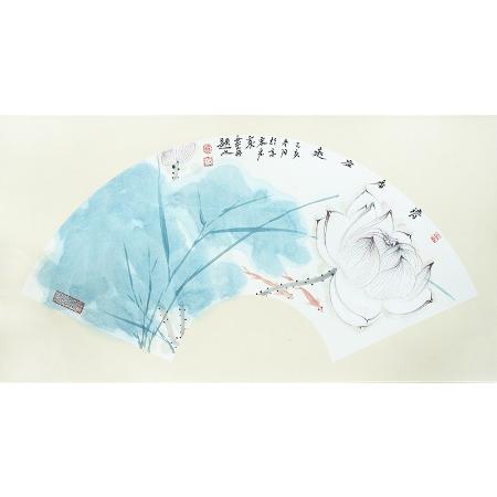 宋宏家书画作品《清香益远》