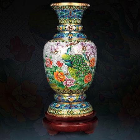 景泰蓝《盛世欢歌》,以一国之礼,福祝世界