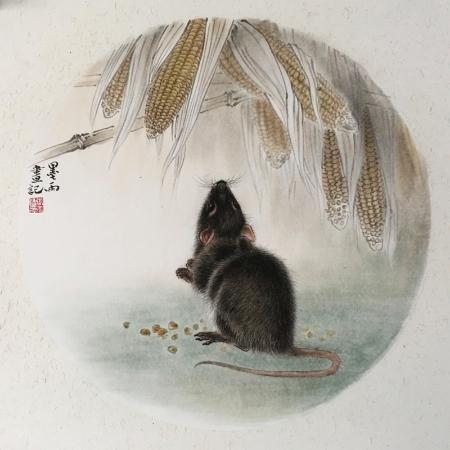 张玉涛书画作品《十二生肖》