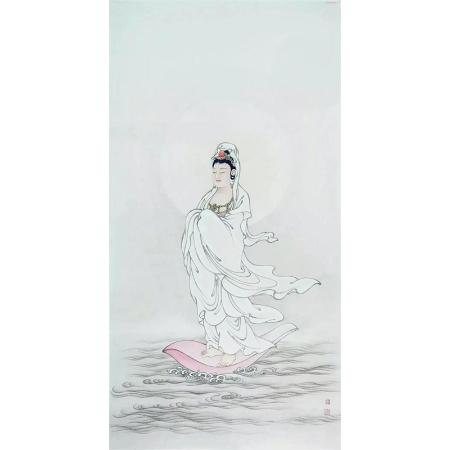 郑玉阗书画作品《观音菩萨》